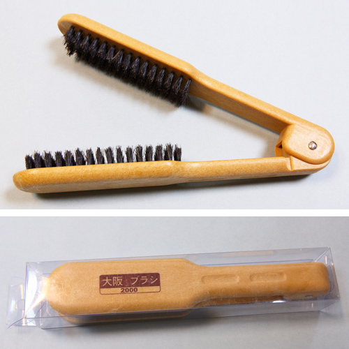Professional Flat Iron Hair Brush, Hair Flat Clip Brush, Straight Hair Comb, Hair Salon Brush
