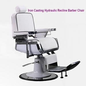 Luxury Iron Casting Hydraulic Recline Barber Chair, Luxury Hydraulic Recline Barber Chair