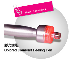Colored Diamond Peeling Beauty Equipment